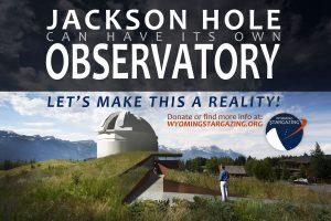 Jackson Hole Observatory Poster