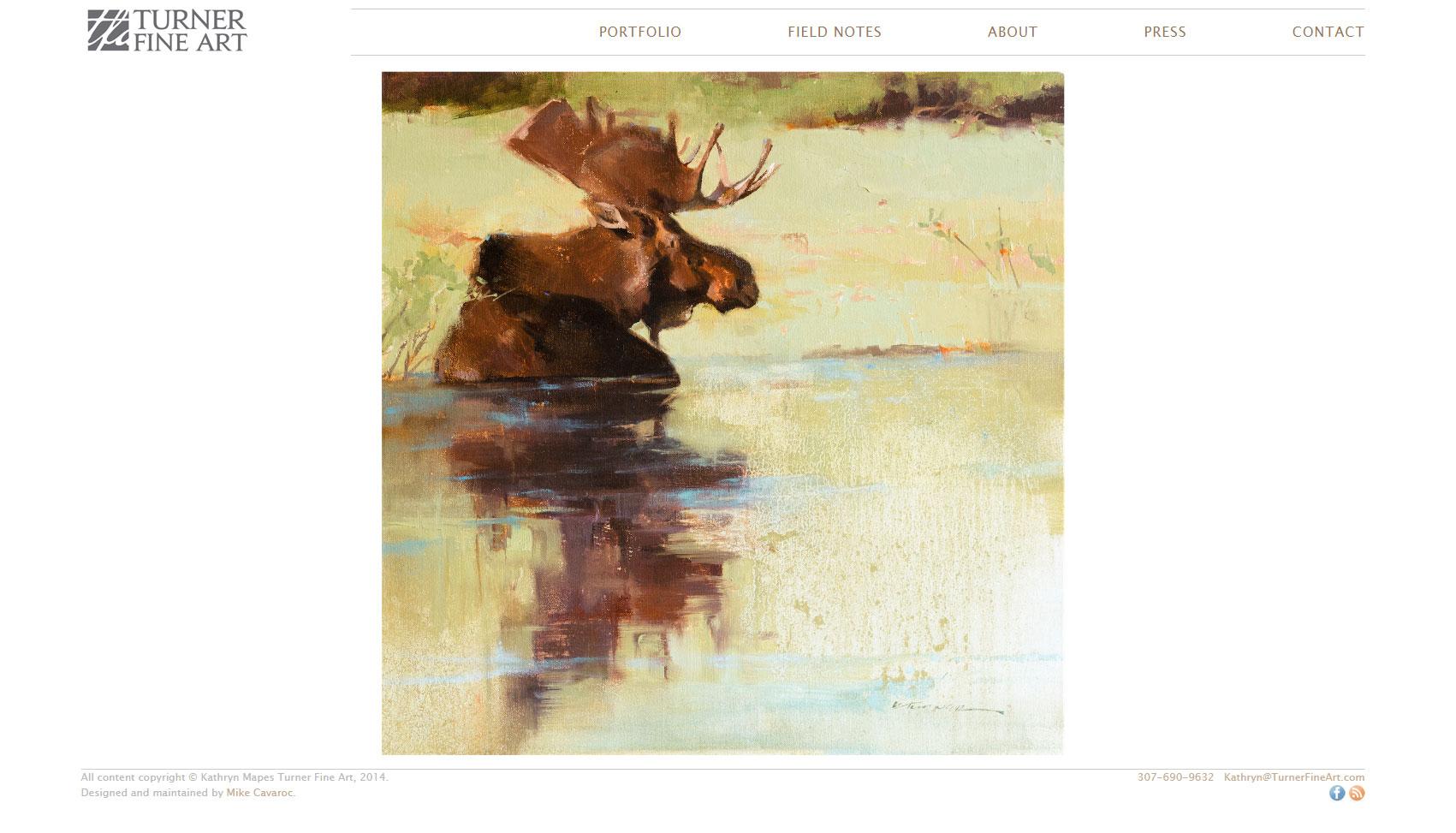 Turner Fine Art Website