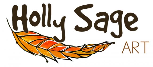 Holly Sage Art Logo