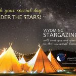 Wyoming Stargazing Wedding Ad 2016