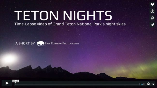 Teton Nights Video