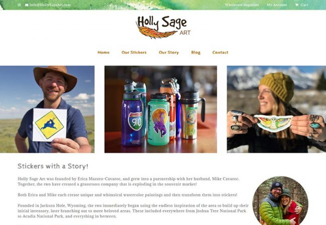 Holly Sage Art Website