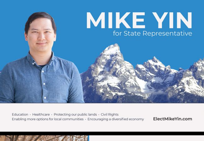 Elect Mike Yin Postcard
