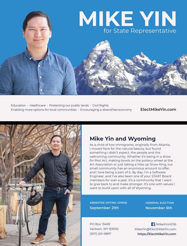 Elect Mike Yin Postcard